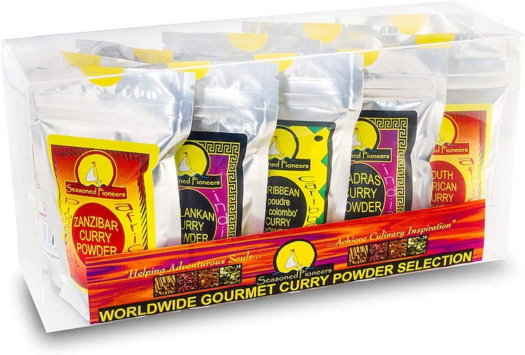 Worldwide Gourmet Curry Powders Selection