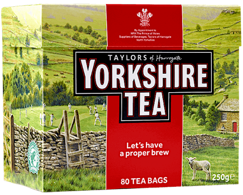 Yorkshire Tea Bags 80 teabag