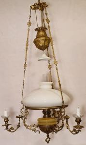 Hängfotogenlampa