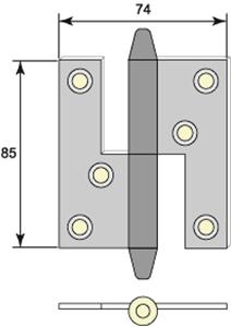 Gångjärn 5021