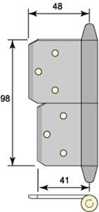Insticksgångjärn 5115