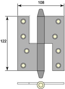 Gångjärn 5128