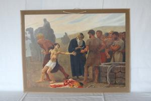 Skolplansch Josef och Brunnen