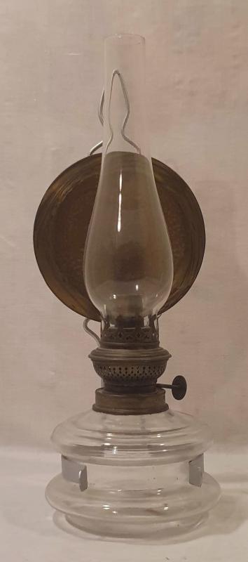 Fotogenlampa, vägghängd