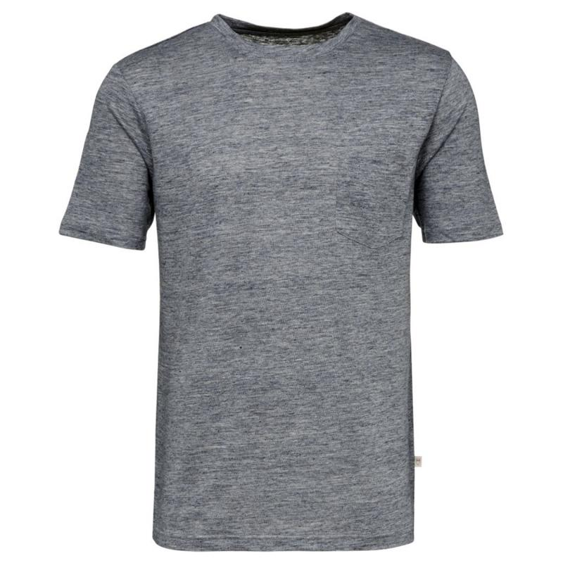 Single Jersey Linen T-Shirt - Gots/Vegan