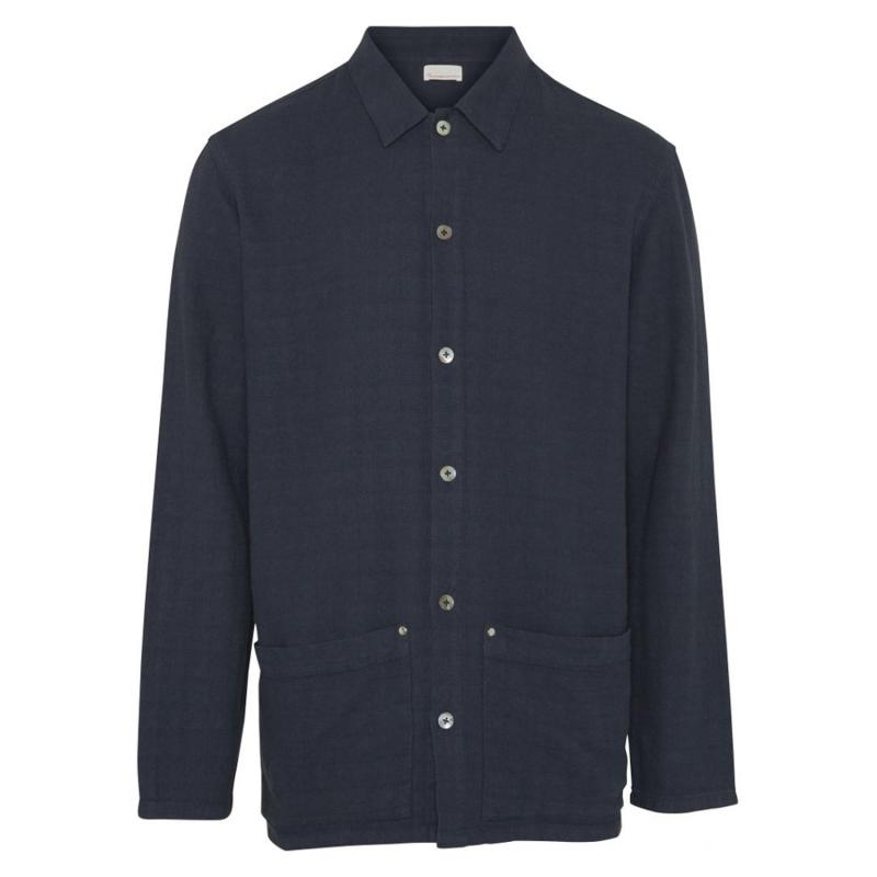 Stuctured Overshirt With Big Pockets/Vegan