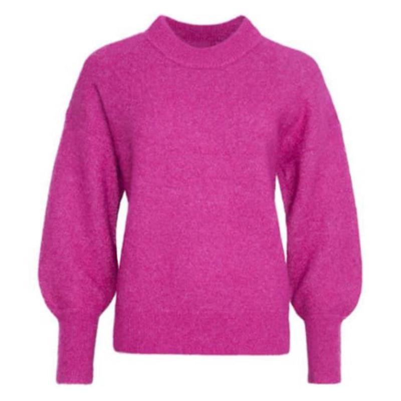 Minnelli Knit Loose O-Neck