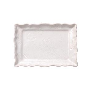 Appetizer plate, white