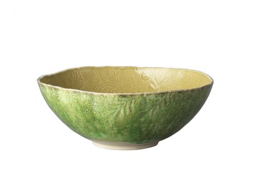 Big bowl, two coloured, olive - seaweed