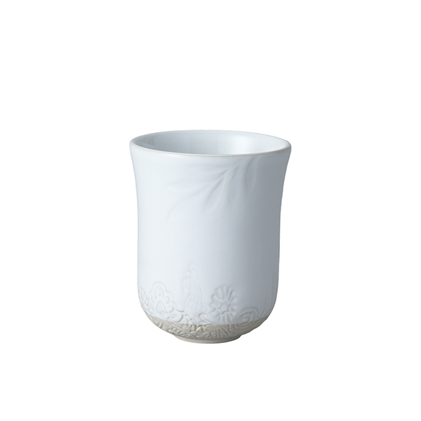 Latte cup, white