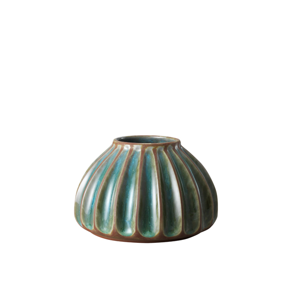 Salon small round vase, melange