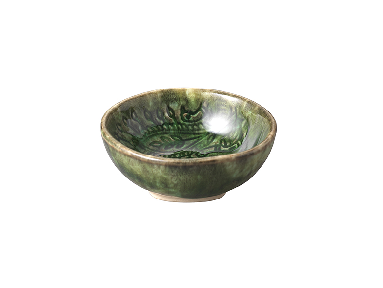 Small dip bowl, seaweed