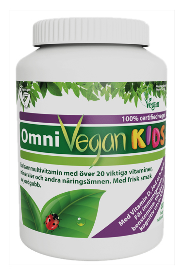 Omnivegan kids , Multivitamin för barn