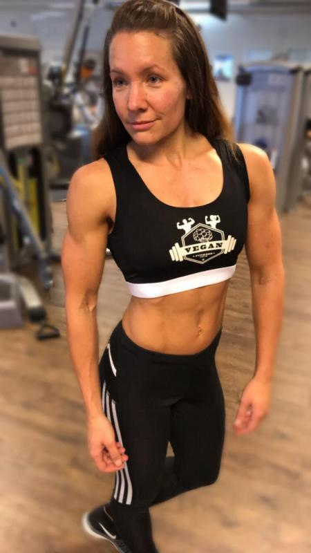 Vegan Fitness Team Sport Top