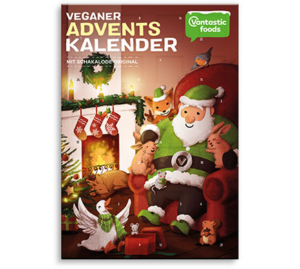 Adventskalender Orginal Vantastic foods 150g