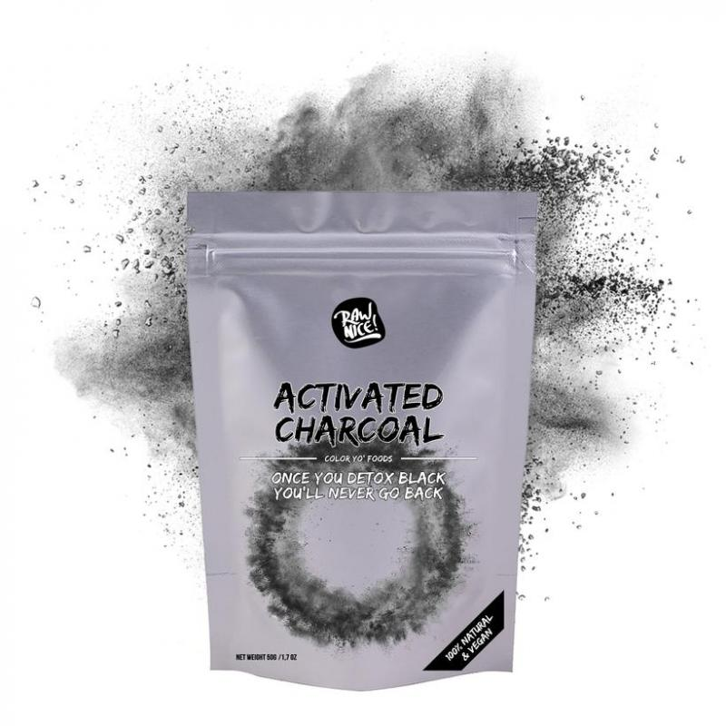 Activated Charcoal 50g Raw Nice