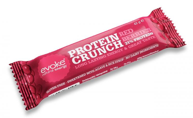 Evoke Berry Crunch Bar - Vegan/Mjölkfri Proteinbar
