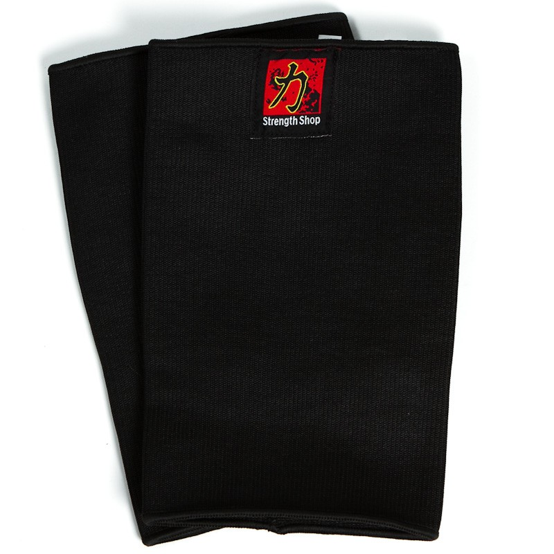 DOUBLE PLY ELBOW SLEEVES, BLACK, 1 PAIR