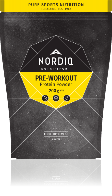 PRE-WORKOUT PROTEIN POWDER Nordiq Nutrition