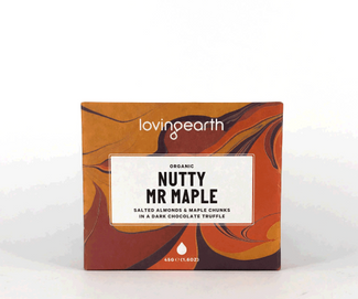 NUTTY MR MAPLE 45g CHOKLADBAR Loving Earth