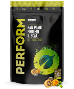 PERFORM Raw Plant Protein & BCAA Vivo Life