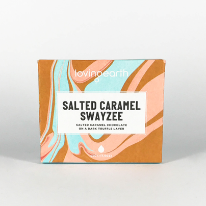 Loving Earth -  Salted Caramell Swayzee Choklad - Vegan