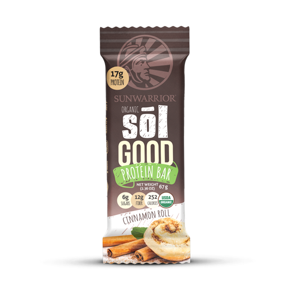 Sunwarrior Sol bar Vegansk Protein bar