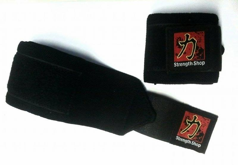 STRENGTHSHOP NORMAL BLACK WRIST WRAPS 60 CM