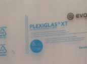 Plexiglas 2mm, A4