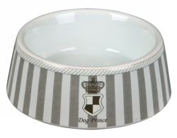 Prins keramikskål grå
