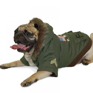 Army jacka grön