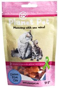 Cat Chicken Fillet Chip 50 gram