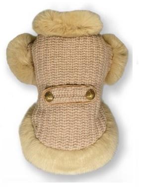 Cortina Fur Cardigan