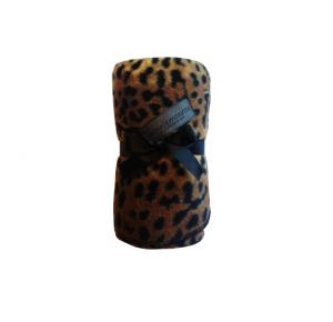 Monroe Mysa fleecefilt Leopard