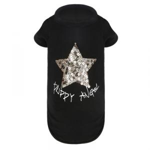 PUPPY ANGEL STAR T-Shirt Svart