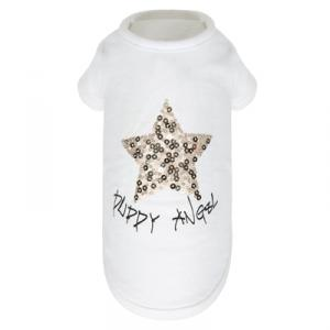PUPPY ANGEL STAR T-shirt vit