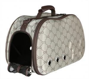 Beige Sissy väska med benmönster