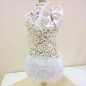 SECRET CRUSH DRESS WHITE