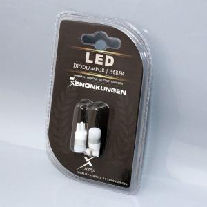 Diodlampor W5W 3D LED 12-24V