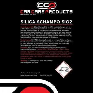 Car Care Products - Silica Schampo 5L