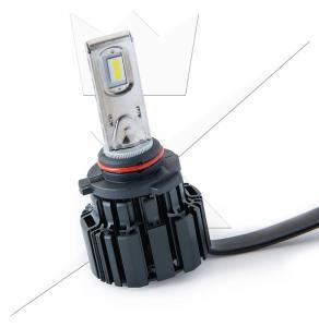 Halvljus/helljus Luxtar Premium LED D2
