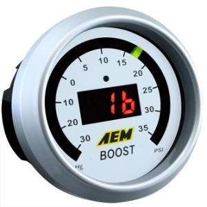 AEM - Laddtrycksmätare -30-35 PSI