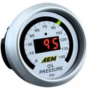 AEM - Tryckmätare OLJA (0-150PSI)