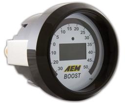 AEM - Laddtrycksmätare -30-50 PSI