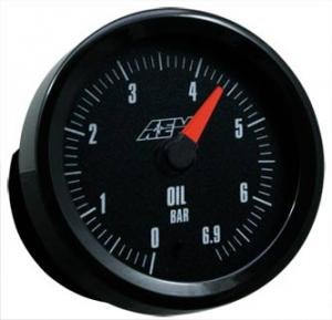 AEM - Oljetrycks-/Bränsletrycksmätare 0-6.9 BAR