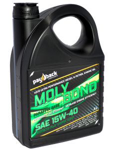 Motorolja Moly Bond Mineral SAE15W-40 1 Liter Flaska - Pay Back