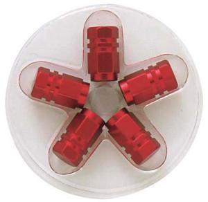 Ventilhattar [Sexkantig   röd]