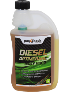 Dieseloptimerare MOLY 2000 500ml Dos-Flaska - Pay Back