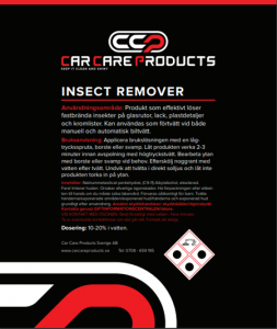Car Care Products - Insect Remover 25L