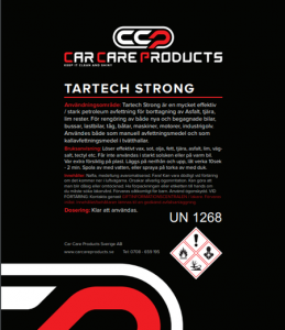 Car Care Products - Tartech Strong 5L